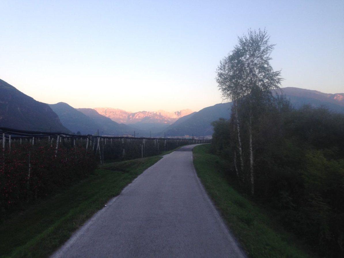Radweg Meran - Bozen