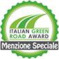 coccarda green road award Menzione Spec