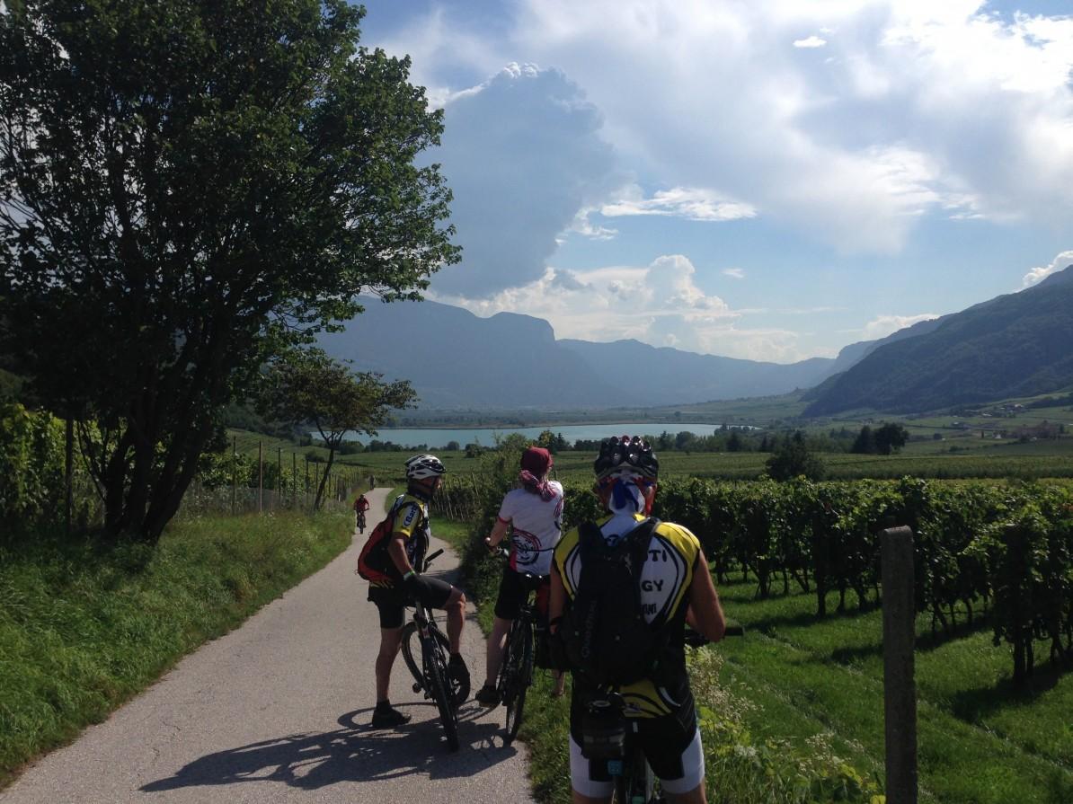 2. Etappe Augustour 2014: Kalterersee